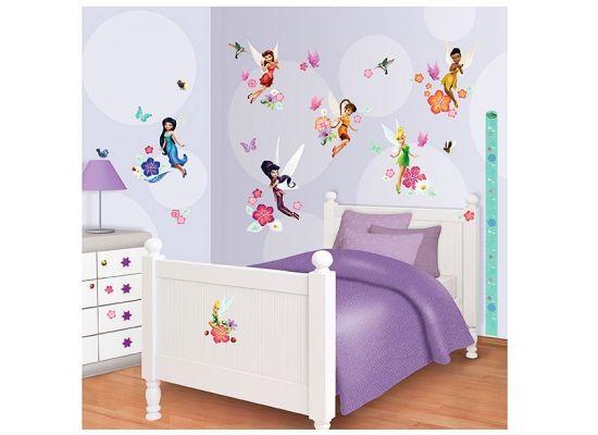 Simple Walltastic Wandsticker Kinderzimmer Disney Fairies Tinkerbell Walltastic Wandsticker Kinderzimmer bei