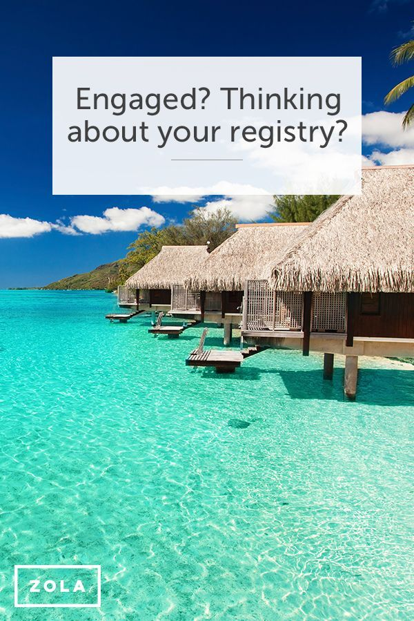 Register for your honeymoon, gifts & experiences all in one place. Discover a better way to register with Zola. Great idea for my friends getting married