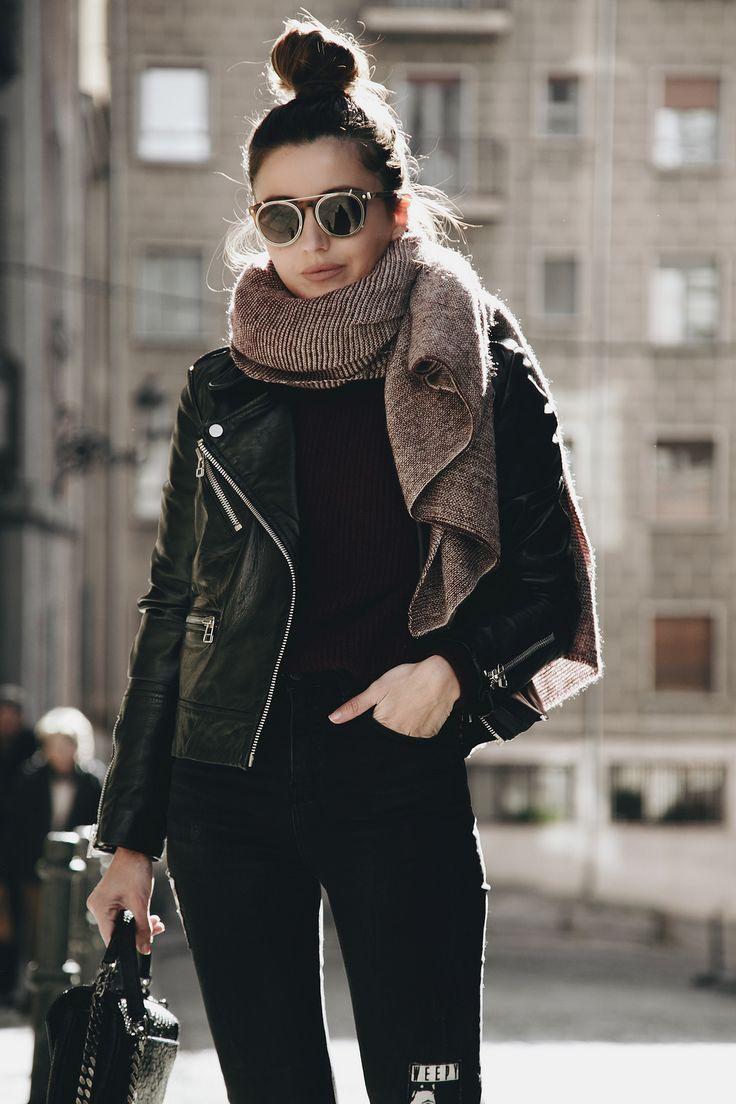 ♥ Pinterest: DEBORAHPRAHA ♥ #winter #street #style