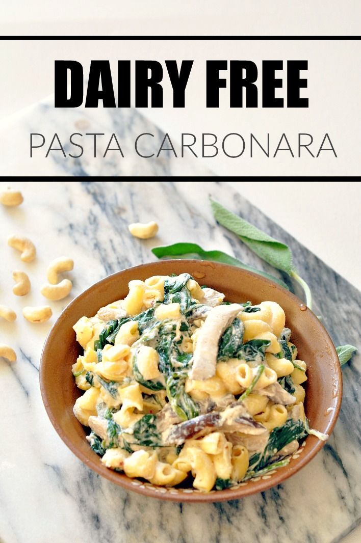 I remember when I used to dine at Cheesecake Factory as a teenager and my absolute favorite items to order off the menu was the fried mac n cheese balls and the pasta carbonara. MAN they were so creamy and delectable.  Well, here's a dairy free version!