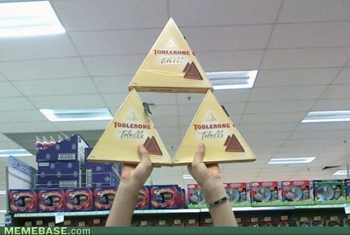 triforce toblerone: Green Color, Legends, G33Kn3Rd Stuff, Videos Games, Games Humor, Zelda, Toblerone Triforc, Beautiful Things, Smart Funny