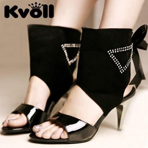 JE shoes Sandales pour Femmes Satin High Heel Ribbon 8cm (Couleur : Abricot, Taille : 38)
