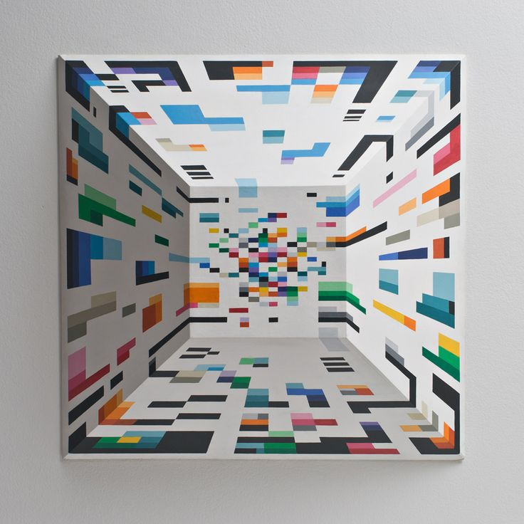 IN - HABIT (DISPLAY) 2010. Pintura volumetrica.