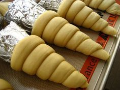 Bread Cones- these look like a non-sweet version of chimney cakes I loved in Eurpoe