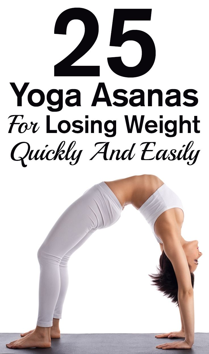 25 YoGa Asanas for Losing Weight Quickly and Easily