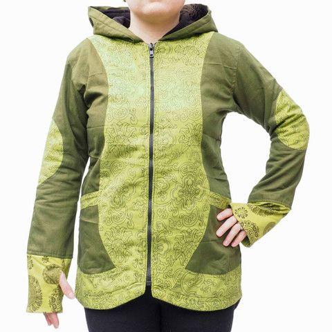 Long Green Womens Jacket