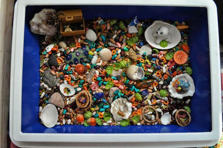 Сенсорная коробка (сухой бассейн):  Море. Инструкция по применению.