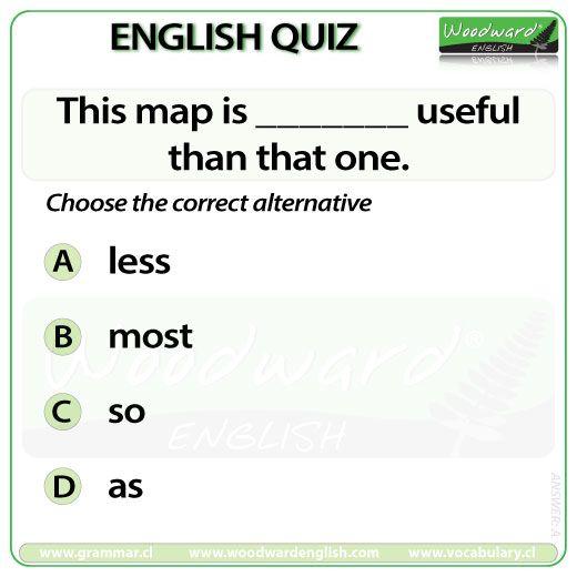 Woodward English Quiz 60