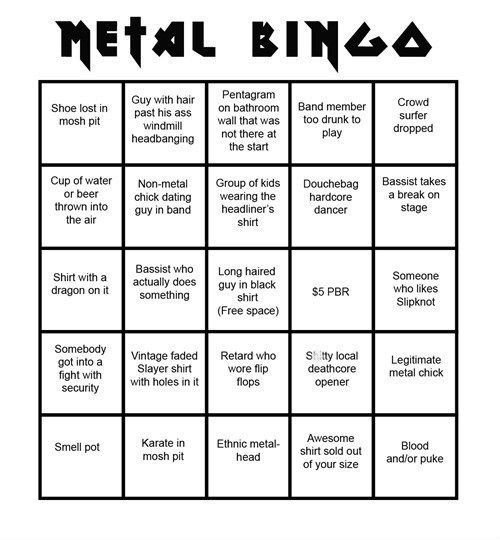Dating for metal fans