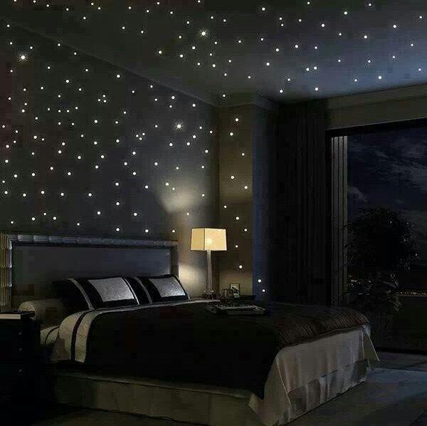 warna cat hitam kamar tidur minimalis