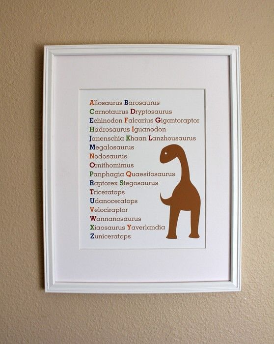 Hey, I found this really awesome Etsy listing at http://www.etsy.com/listing/69241267/dinosaur-alphabet-art-print-8x10
