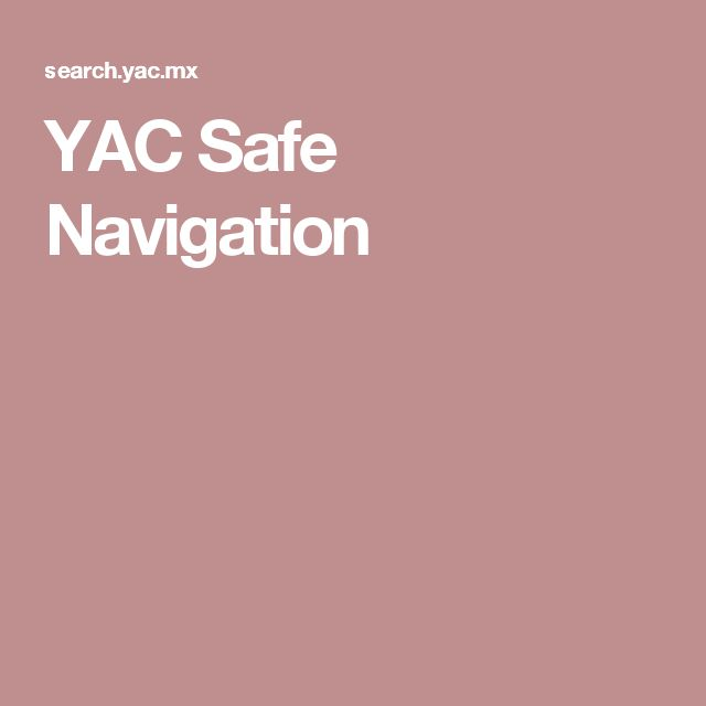 YAC Safe Navigation