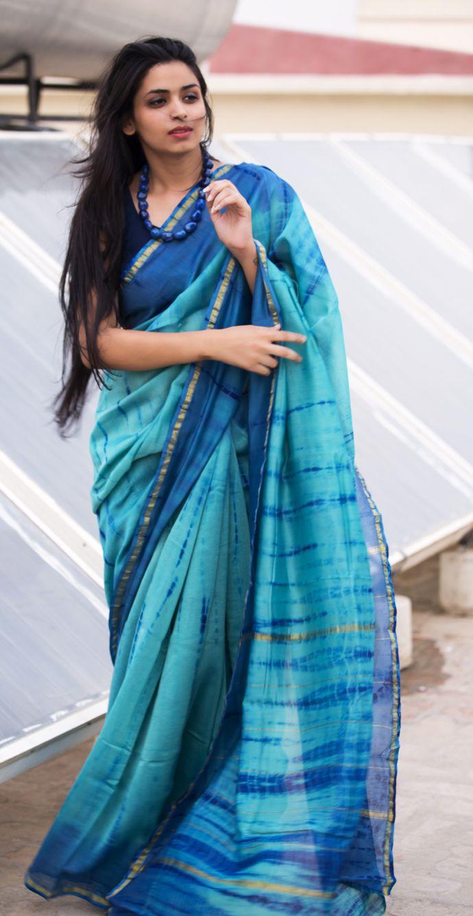 Shibori #Saree More
