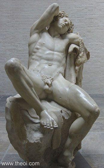 Ancient Greek & Roman Sculpture: Satyr Barberini Faun