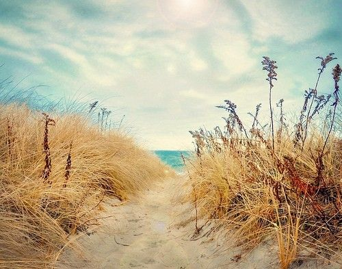 Every time I get to this part of the beach, my heart skips a beat... I get so excited to see the amazing view!  Leeny: I have the same experience when I rise upon the sand dune at my local beach...a special place to BE!