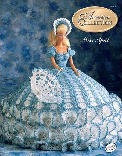 Mejores 172 imágenes de barbie crochet en Pinterest | Ropa de muñeca ...