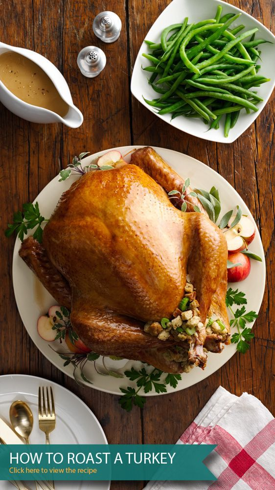 How To Roast A Turkey- a how to guide for your first Thanksgiving for the perfect turkey