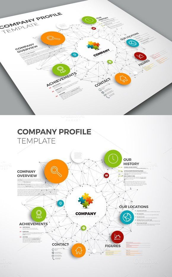 Company Profile. Business Infographic. $8.00