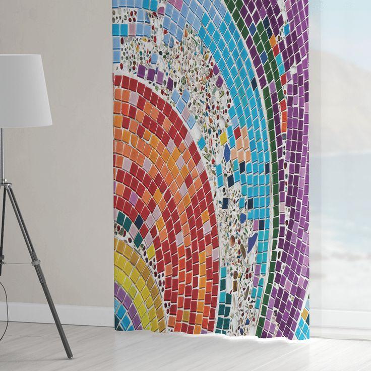 Zasłona Mosaic