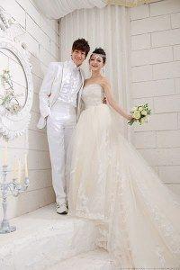 Model baju pengantin korea