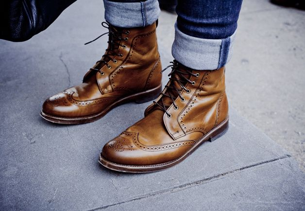 The way you do it. New York Street Style Photos by Ben Ferrari - Men's Street Style Boots: Style: GQ