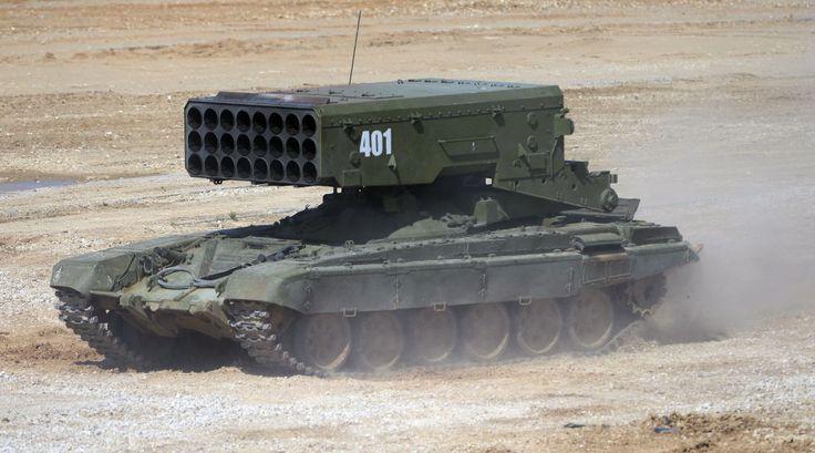 Nejnovější ruská vojenská technika