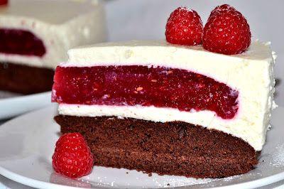 .. chute a vône mojej kuchyne...: Malinova torta -rozpravkova