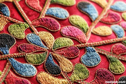 Korean needlework