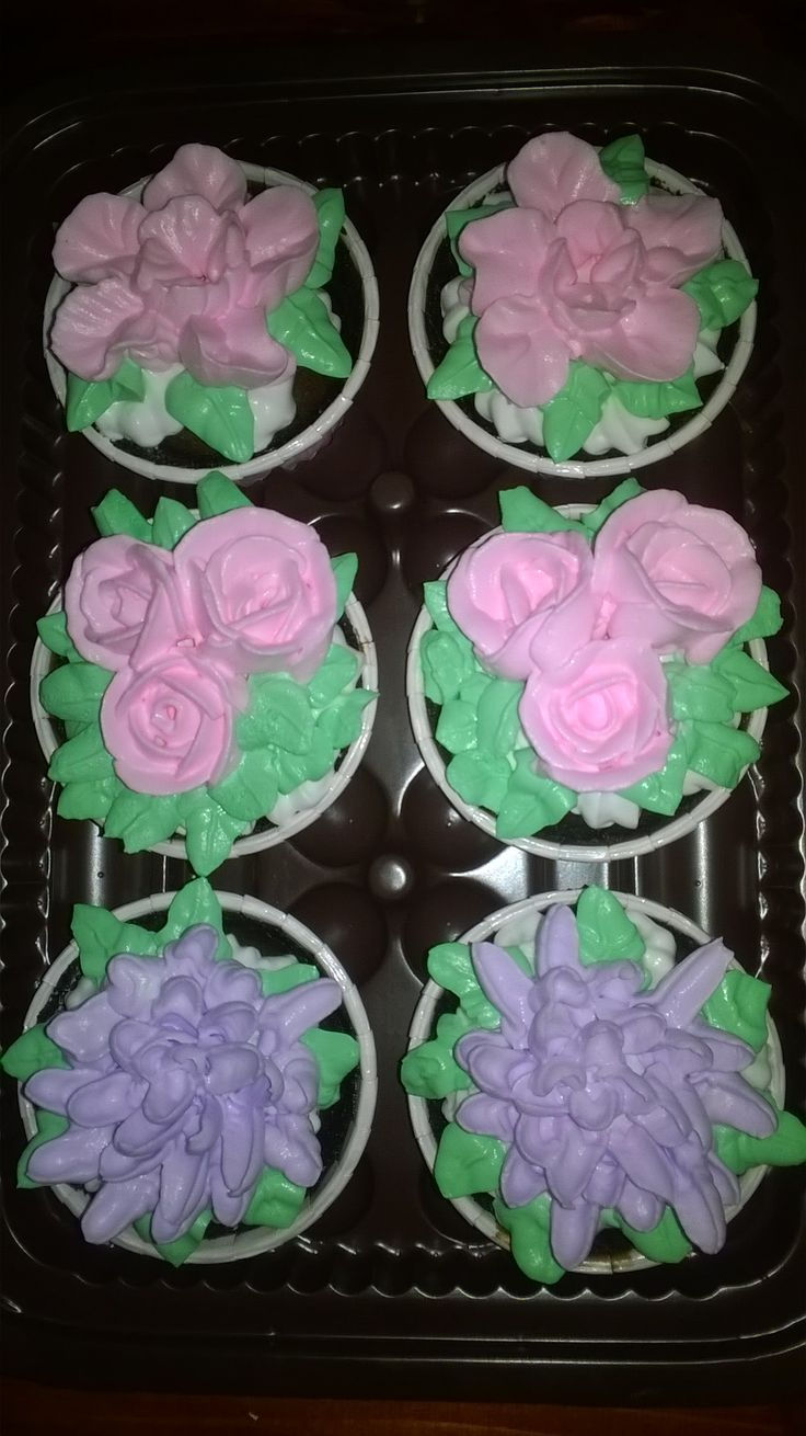 African choco cupcake