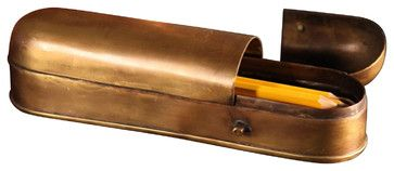 Pencil Box - traditional - desk accessories - BoBo Intriguing Objects