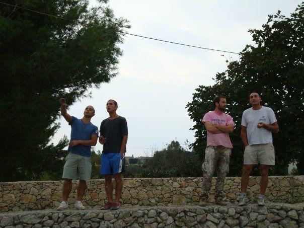 con i ragazzi della Fondazione Exodus di Don Antonio Mazzi