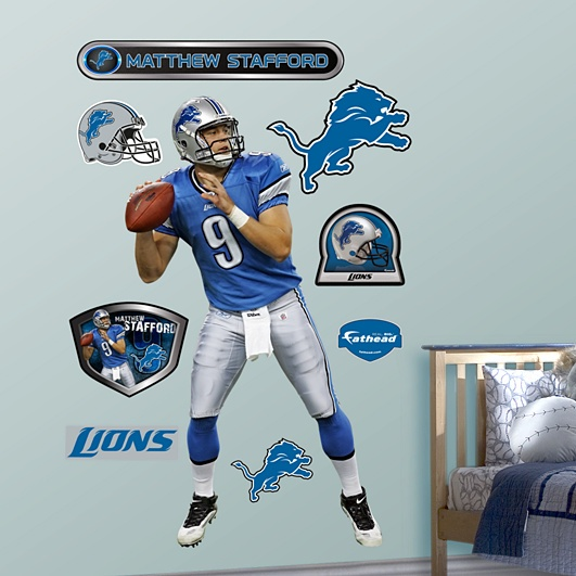 You mean I could have Matthew Stafford on my wall?