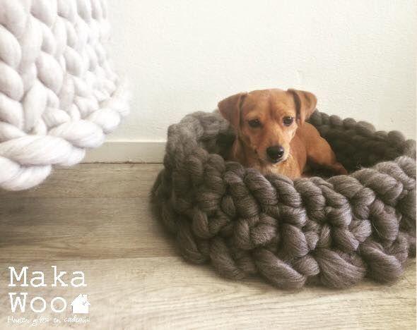 lontwol XXL breien, knitting,wool,dog,merinowool,wool,merino,lontwol,hondenmandje
