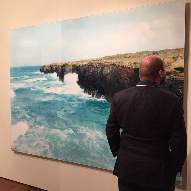 Las Catedrales Diptych Time / Tide, 2011 #MassimoVitali #PhotoLondon2015 21-25 May 2015 Galerie Ernst Hilger Sommerset House, #London