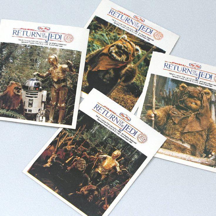 Star Wars NZ - vintage ROTJ stickers