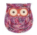 Owl Shaggy Bath Or Door Mat  £18.99