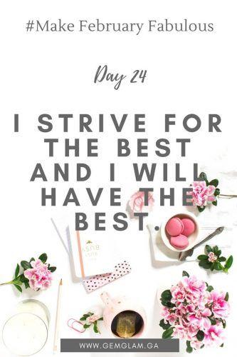 #Make February Fabulous -day 24