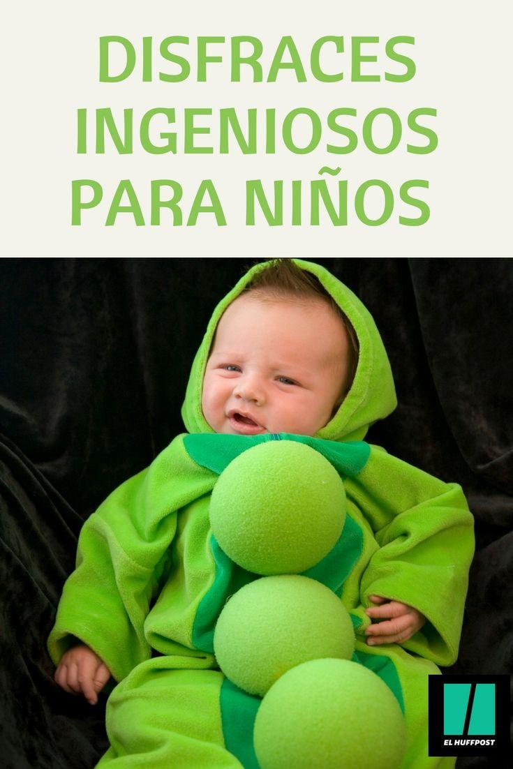 Disfraces rápidos y originales de Halloween para niños y bebés