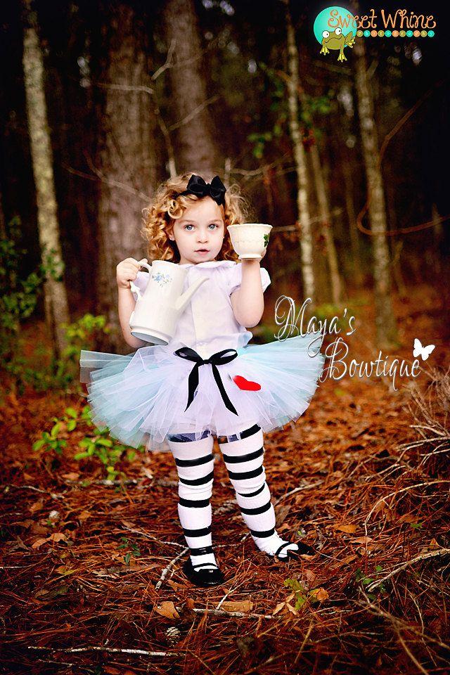 Alice in Wonderland Tutu - Baby Tutu - Newborn Tutu - Intant Tutu - Toddler Tutu - Birthday Tutu - Photo Prop. $24.00, via Etsy.