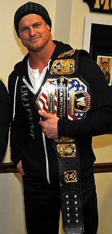 Nic Nemeth Wrestling names: (Current) Dolph Ziggler/ Nick Metro/Nick Nemeth/Nicky.   My man! My love!