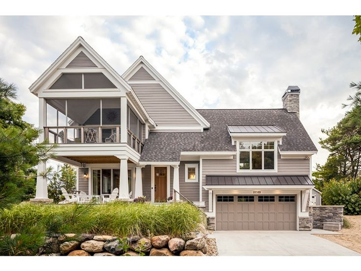 eplans contemporary modern house plan contemporary with a touch of craftsman 2356 square feet and 3 bedrooms from eplans house plan code
