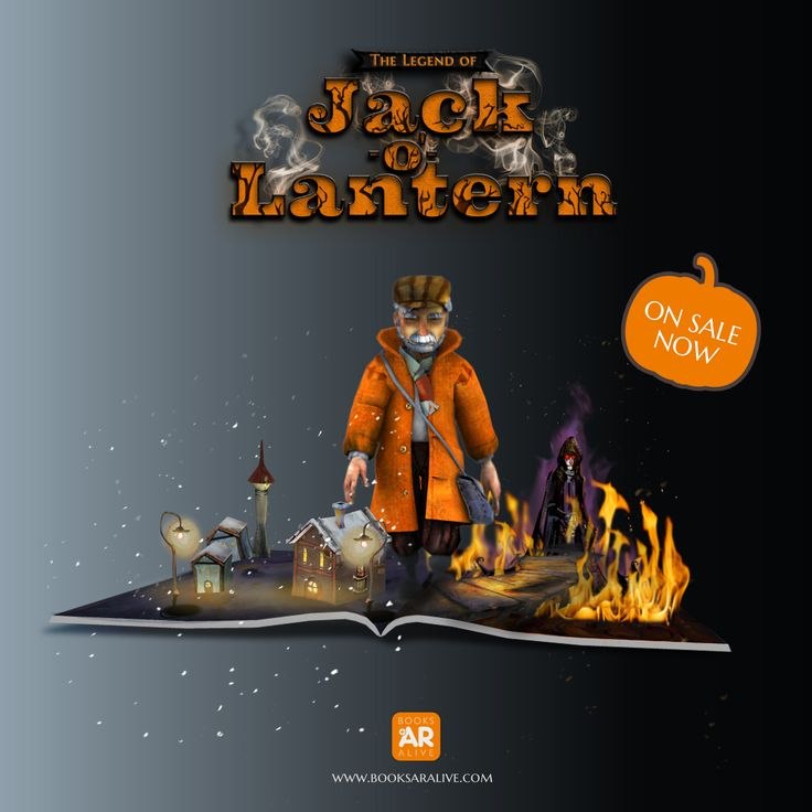 Finally!! Jack is here. Do you want to know him? Please visit www.booksaralive.com and Happy Halloween!!!