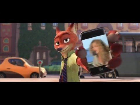 """Zootropolis - Shakira """"Try Everything"""" Music Video Tease - OFFICIAL Disney 