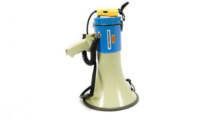 Monacor Megaphone - Perfect for ordering the crew and crowds about!