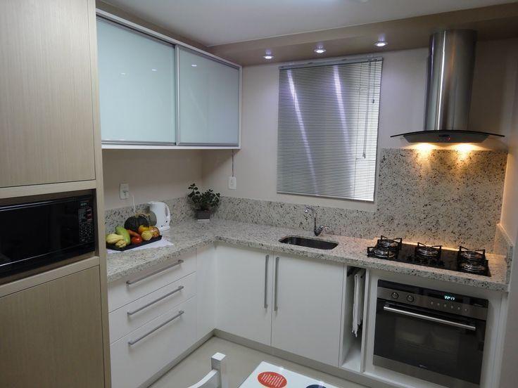 55 cozinhas em L Frontão no fogão