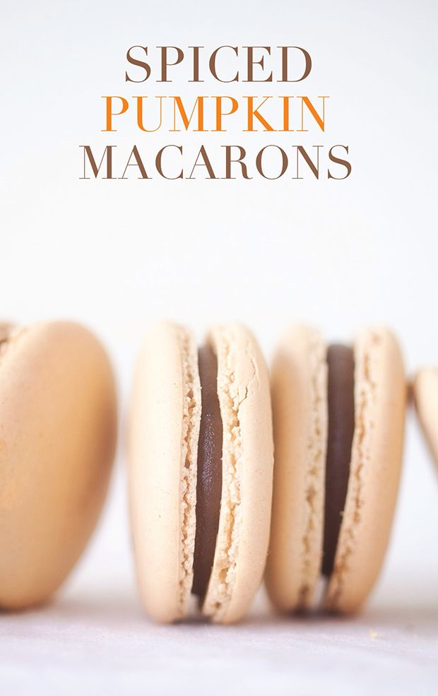 These are the best pumpkin macarons. Fall time just screams pumpkin spice everything, so I figured we needed an easy Pumpkin Spice Macaron recipe.