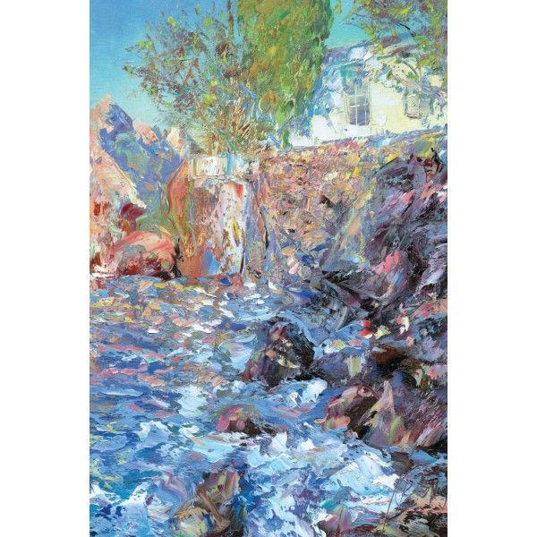 Morning. Chekhov's Bay, 2013 - Postcards, Pictorial art