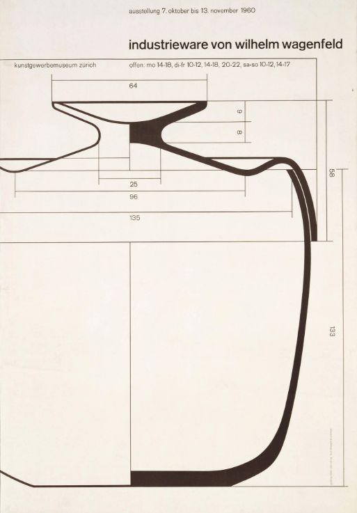 Fridolin Müller, Industrieware von Wilhelm Wagenfeld, 1960