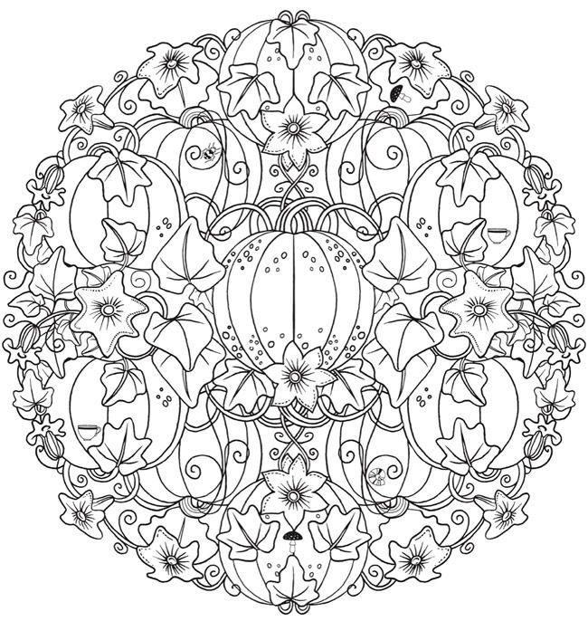 halloween mandala coloring pages - best 25 mandala halloween ideas on pinterest