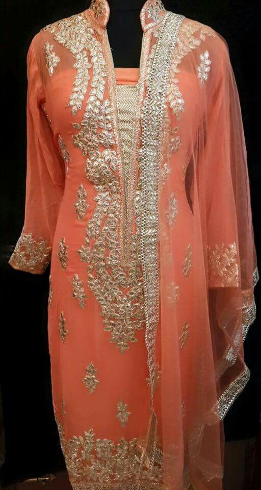 gota. Custom made available at Royal Threads Boutique. for order WhatsApp +91 9646 916 105 or email us at royalthreadsboutique14@gmail.com
